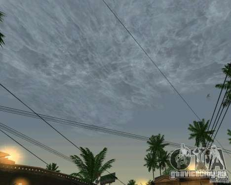 Новые облака для GTA San Andreas второй скриншот