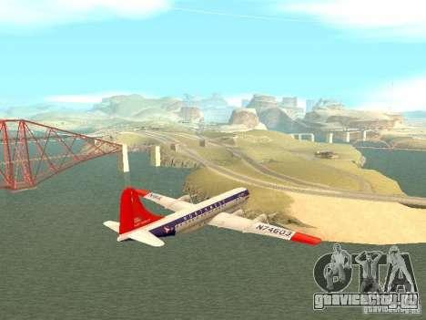 Boeing 377 Stratocruiser для GTA San Andreas вид слева