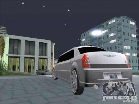 Chrysler 300C Limo для GTA San Andreas вид слева
