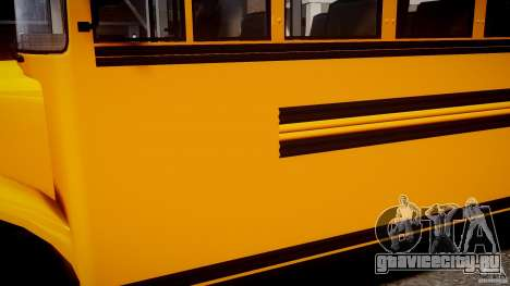 School Bus [Beta] для GTA 4 вид сзади