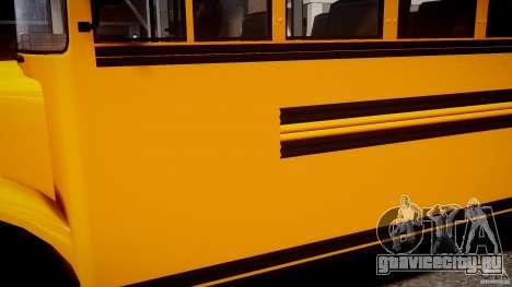 School Bus [Beta] для GTA 4 вид сзади