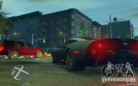 Spyker C8 Aileron для GTA 4 вид сзади слева