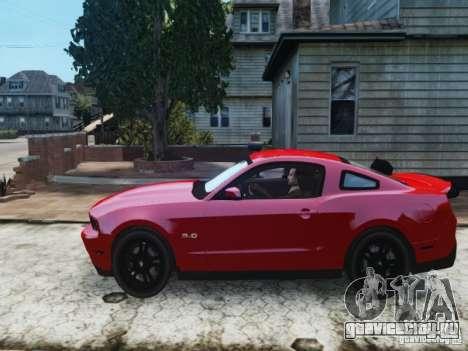 Ford Mustang GT 2011 для GTA 4 вид слева