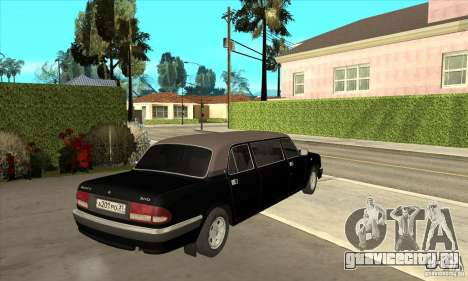 ГАЗ 3110 Лимузин для GTA San Andreas вид справа