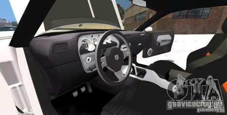 Dodge Challenger 2006 для GTA 4 вид сбоку