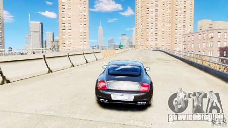 Bentley Continental SuperSports v2.5 для GTA 4 вид сзади
