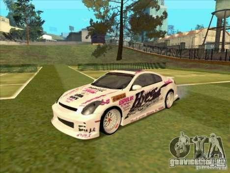 Infiniti G35 Top Secret для GTA San Andreas
