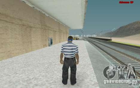 Новые скины для банды Varios Los Aztecas для GTA San Andreas четвёртый скриншот