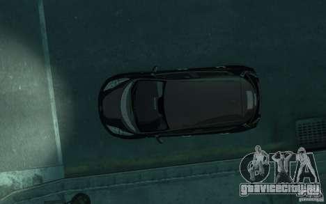 Nissan Leaf 2011 для GTA 4 вид изнутри