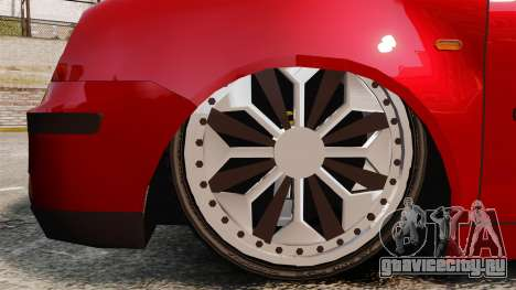 Volkswagen Polo Edit для GTA 4 вид сзади