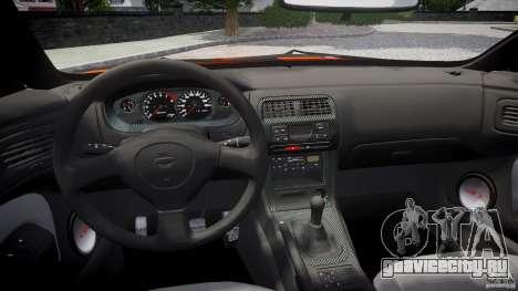 Nissan Silvia Ks 14 1994 v1.0 для GTA 4 вид сверху