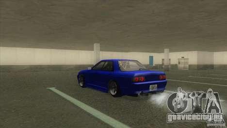 Nissan Skyline R32 GTS-T для GTA San Andreas вид слева