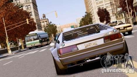 BMW M1 EPM v2.0 для GTA 4 вид сзади слева