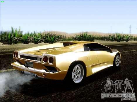 Lamborghini Diablo VT 1995 V3.0 для GTA San Andreas вид справа