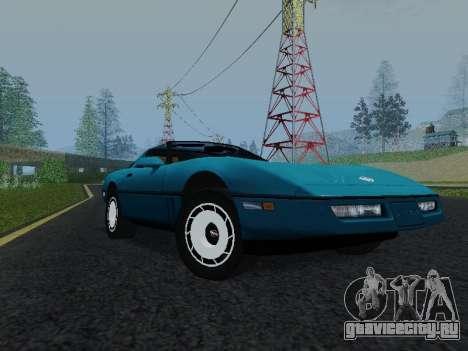 Chevrolet Corvette C4 1984 для GTA San Andreas вид слева