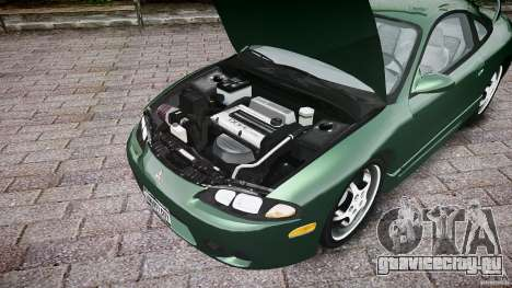 Mitsubishi Eclipse 1998 для GTA 4 вид сзади