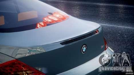 BMW M6 G-Power Hurricane для GTA 4 вид снизу