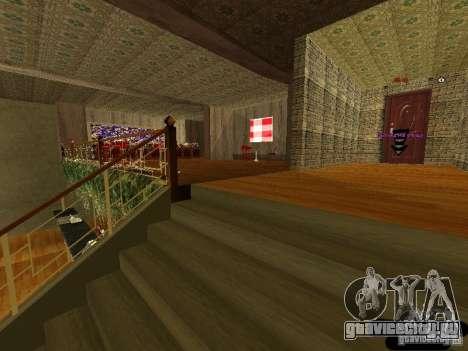Новый интерьер Marco Bistro для GTA San Andreas четвёртый скриншот