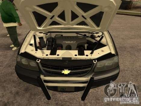 Chevrolet Impala Police 2003 для GTA San Andreas вид справа