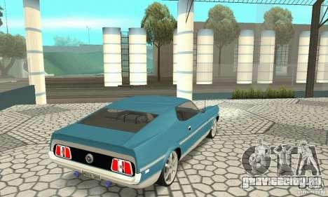Ford Mustang Mach 1 1971 для GTA San Andreas вид слева