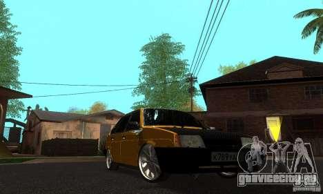ВАЗ 2109 Light Tuning для GTA San Andreas вид сзади