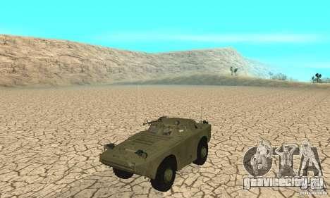 БРДМ-1 Скин 1 для GTA San Andreas вид слева