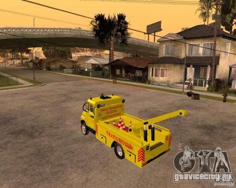 ЗиЛ 5301 Бычок эвакуатор для GTA San Andreas вид слева