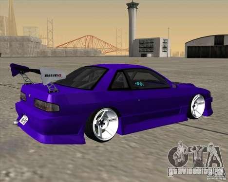 Nissan Silvia S13 Nismo tuned для GTA San Andreas вид слева