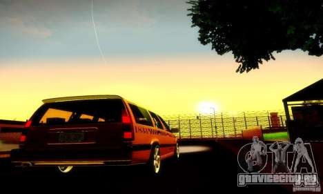 Volvo 850 R Taxi для GTA San Andreas вид справа