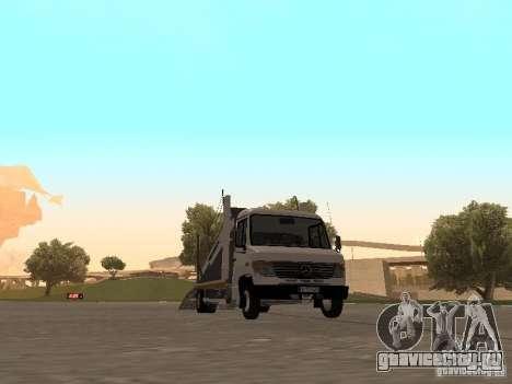 Mercedes-Benz Vario для GTA San Andreas вид слева
