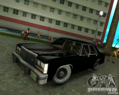 Ford Crown Victora LTD 1985 для GTA Vice City