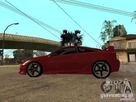 Toyota Celica Veilside для GTA San Andreas вид слева