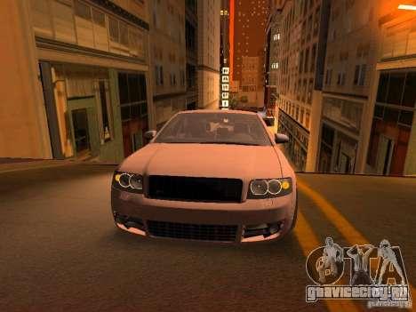 Audi S4 OEM для GTA San Andreas вид снизу