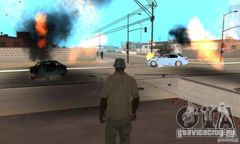 Hot adrenaline effects v1.0 для GTA San Andreas десятый скриншот