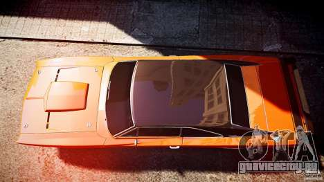 Dodge Charger RT 1969 tun v1.1 спортивный для GTA 4 вид справа