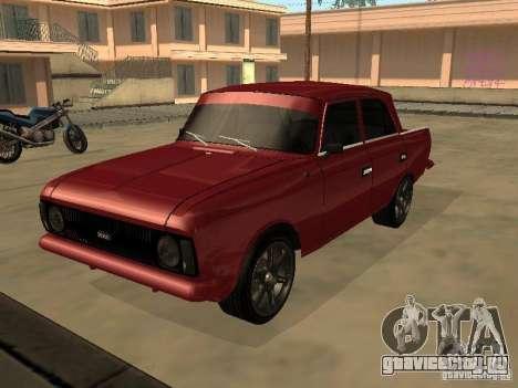 АЗЛК 412 IE для GTA San Andreas