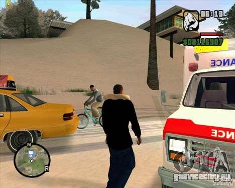 Cкорая помощь для GTA San Andreas четвёртый скриншот