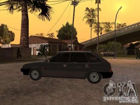 ВАЗ 21093 для GTA San Andreas вид справа