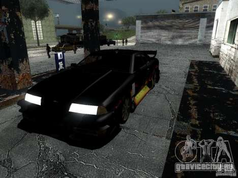 Винил Барона из Most Wanted для GTA San Andreas вид справа