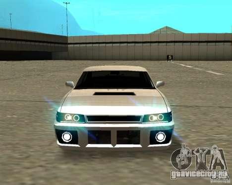 Azik Sultan для GTA San Andreas вид сзади