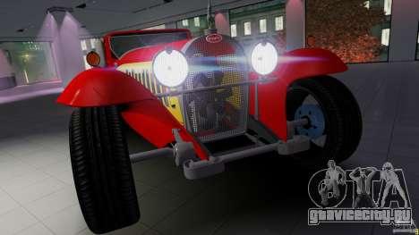 Bugatti Type 41 Royale Coupe Napoleon 1927 для GTA 4 вид сзади слева