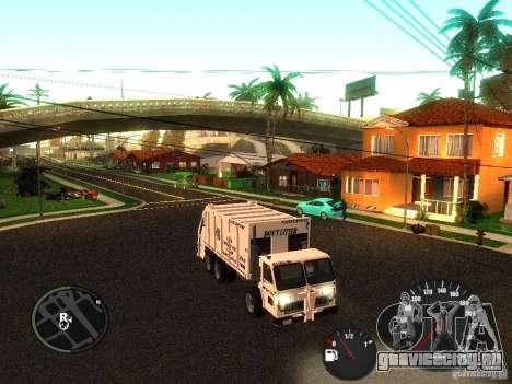 Мусорщик из ГТА 4 для GTA San Andreas вид слева