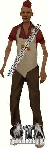 Человек сосиска для GTA San Andreas второй скриншот