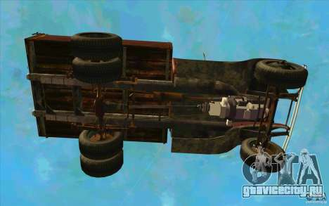 ГАЗ-АА для GTA San Andreas вид сверху