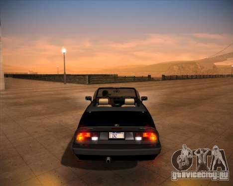 Alfa Romeo Spider 115 1986 для GTA San Andreas вид справа