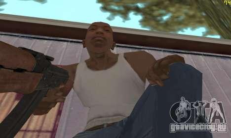 Автомат Калашникова Модернизованный для GTA San Andreas третий скриншот
