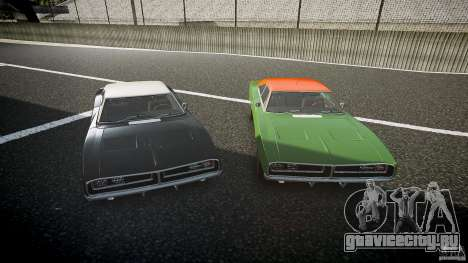 Dodge Charger RT 1969 v1.0 для GTA 4