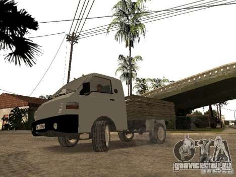 Hyundai Porter борт для GTA San Andreas вид сзади