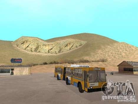 ЮМЗ Т1 для GTA San Andreas вид сбоку