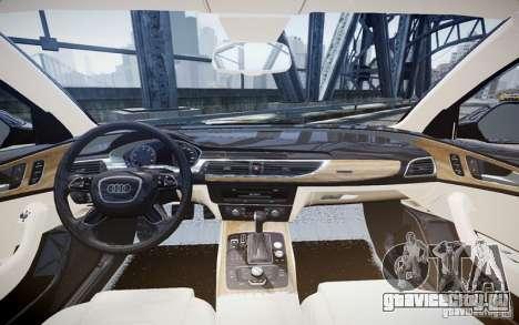 Audi A6L для GTA 4 вид слева